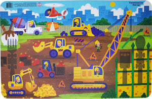 Constructive Eating - Construction Placemat
