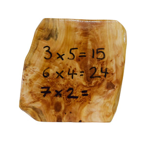 Natural Wooden Writing Board