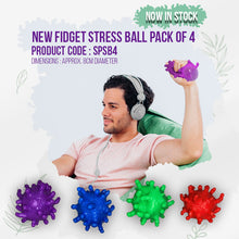 Load image into Gallery viewer, Air Filled Puffer Stress Balls (Pack of 4)