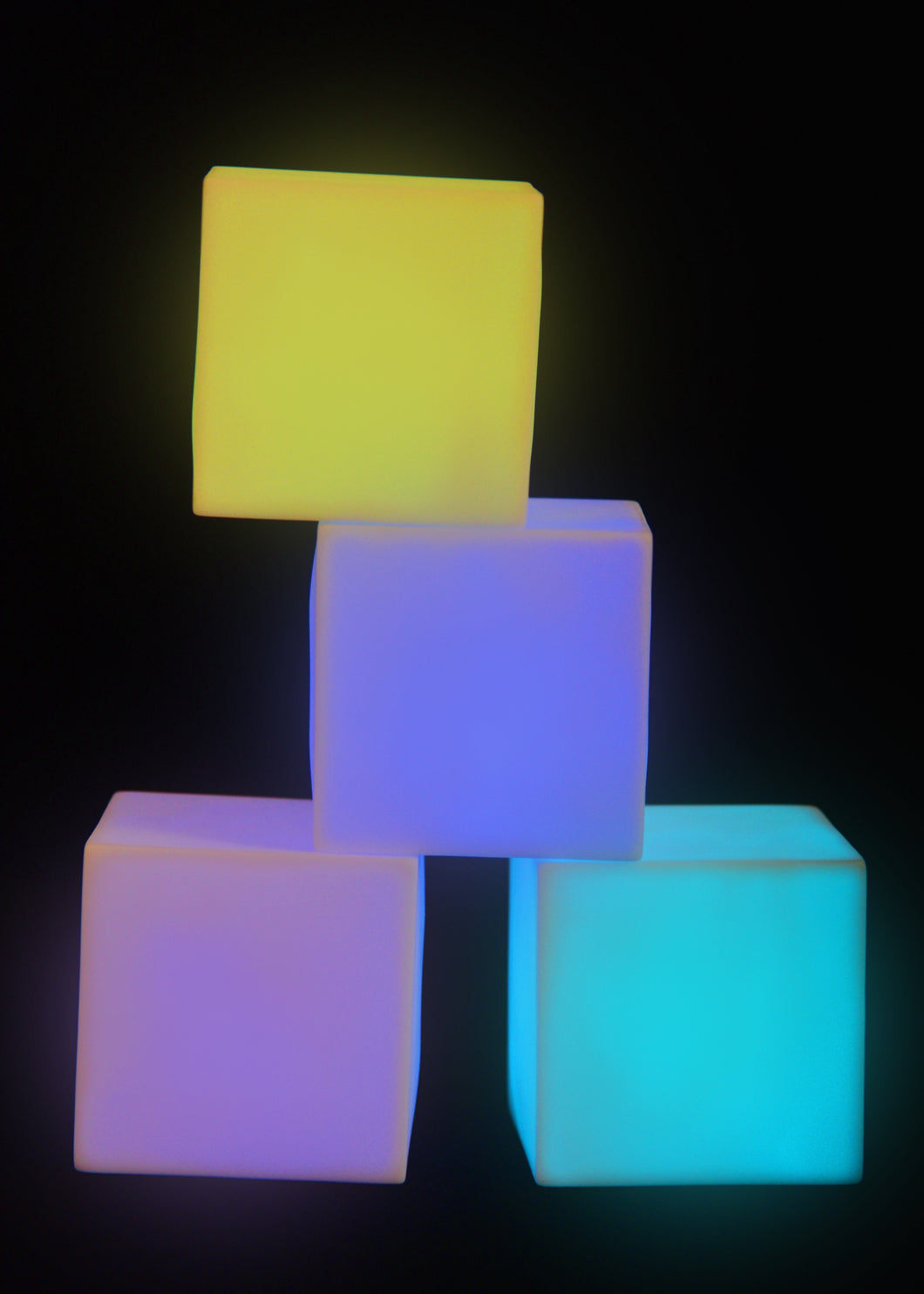 Colour Changing Mood Blocks (set of 4)