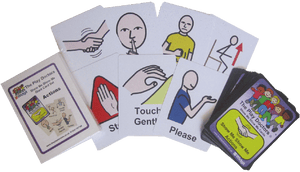 Show Me Actions Flash Cards
