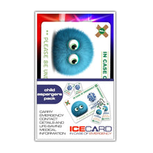 Load image into Gallery viewer, Aspergers Child - ICE card pack (incase of emegency)