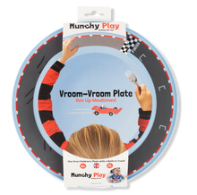 Load image into Gallery viewer, Munchy Play - Vroom Vroom Plate