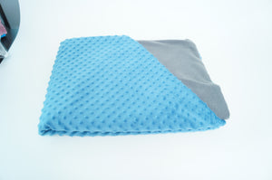 5kg Weighted Blanket Large (150cm x 200cm) in Blue/Grey