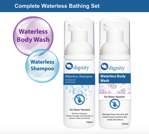Waterless Bathing Set