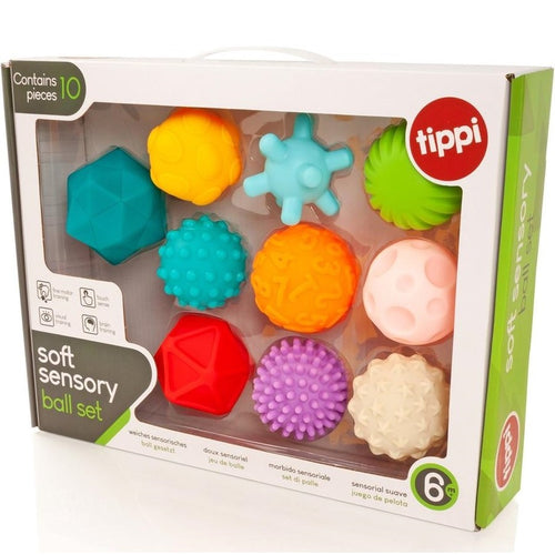 Tippi Soft Sensory Balls (set of 10)