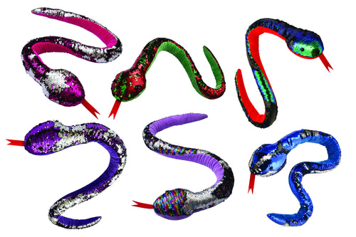 Sequin Sparkle Snake - Large (120cm)