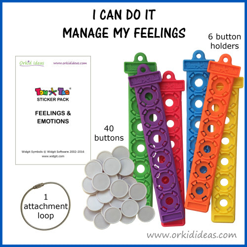 Tom Tag Kit - I can do it, manage my feelings