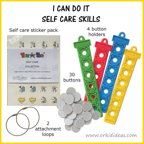 Tom Tag Kit - I can do it, self care skills