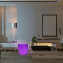 Load image into Gallery viewer, Colour Changing LED Mood Light Tree Trunk Sensory Furniture