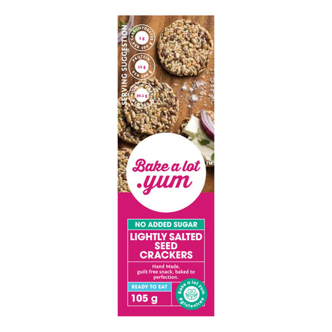 Lightly Salted Seed Crackers (105g)