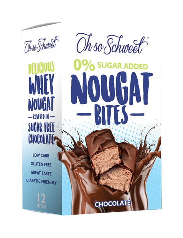 Oh so Schweet Nougat Bites (12 pieces)