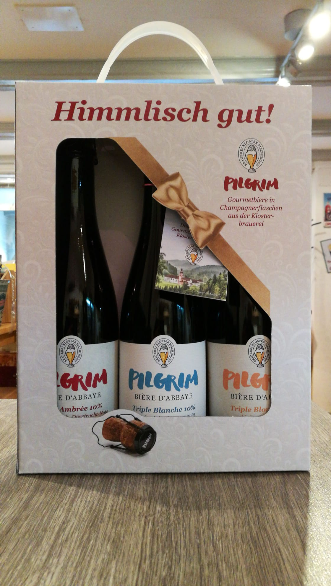 3-er Bier-Set Pilgrim 37.5cl