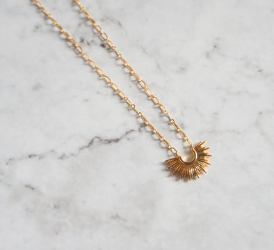 *BRACHA* Mini Blaze Necklace - Barr Bones
