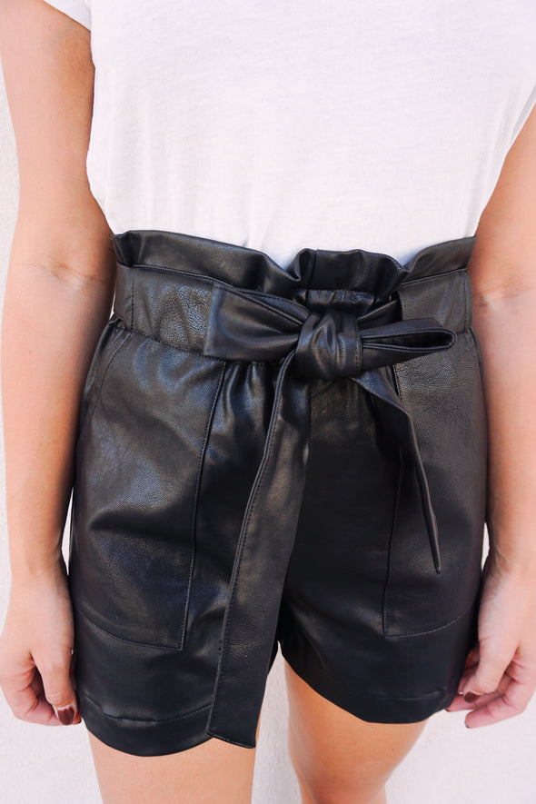 Witchin' Leather Shorts - Barr Bones