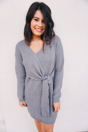 Cozy Up Sweater Dress - Barr Bones