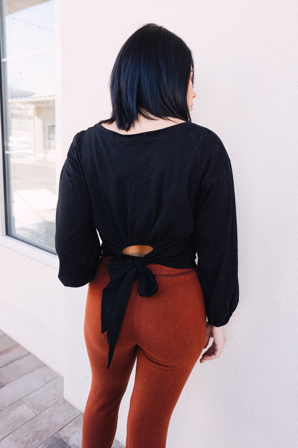 Peekaboo Back Top