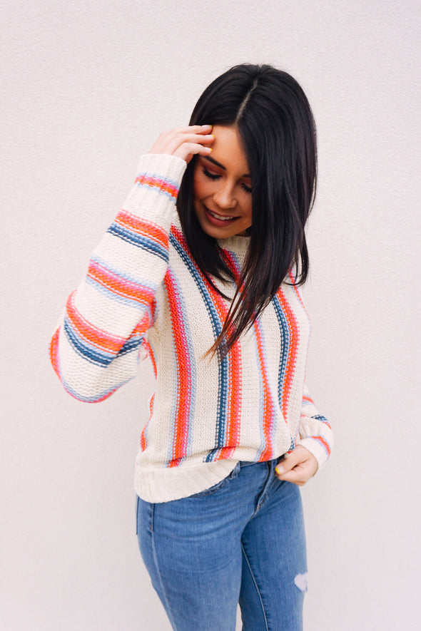 Candy Stripe Sweater - Barr Bones