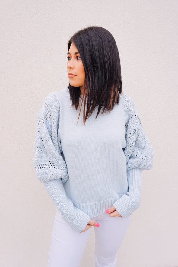 Baby Blues Sweater - Barr Bones