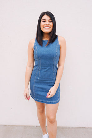 Denim Dreams Dress - Barr Bones