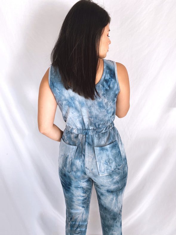 All About the Blues Jumpsuit