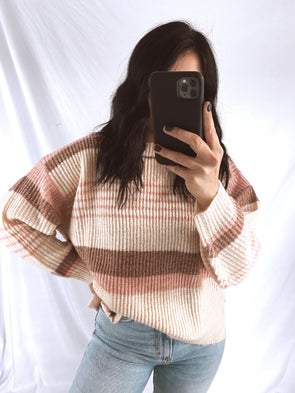 Blush Brown Sweater