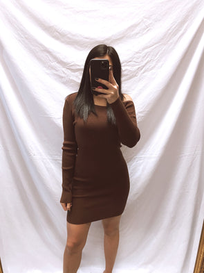 Dipped in Chocolate Dress