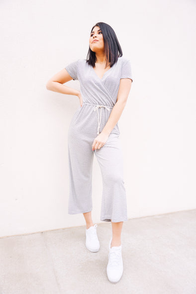 Let's Be Leisure Jumpsuit - Barr Bones