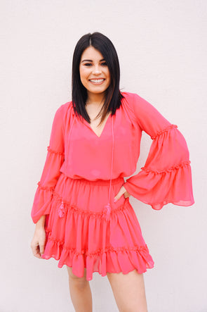 Flirty Flamingo Dress - Barr Bones