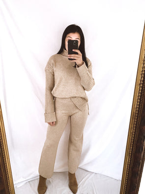 Camel Cable Pant