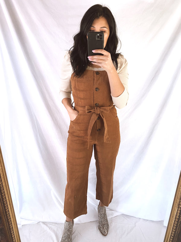Pumpkin Patch Overalls