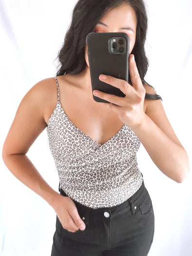 Cheetah Mesh Bodysuit