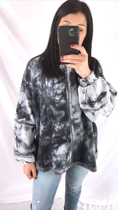 Ash Dyed Sweatshirt