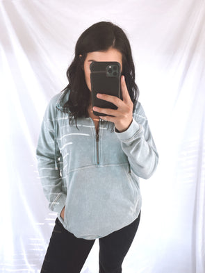 Mint Terry Pullover