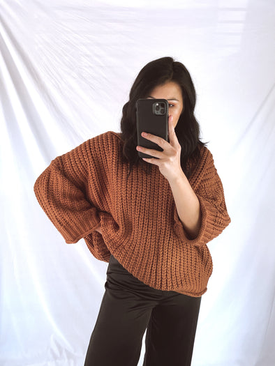 Dried Carrot Sweater