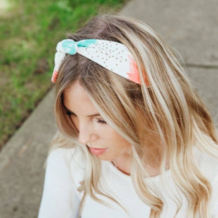 Ava Pink Arrow Headband