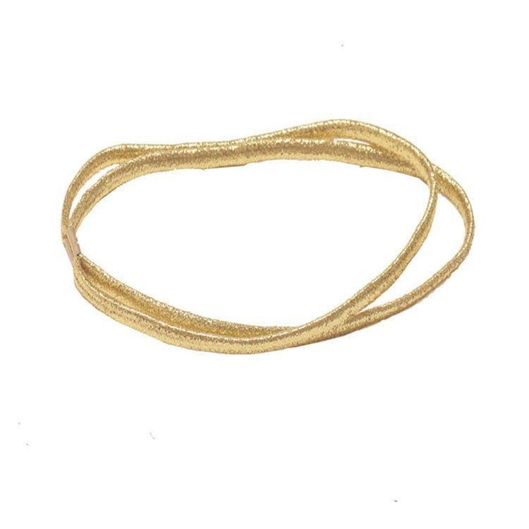 Waverly Gold Glitter Headband
