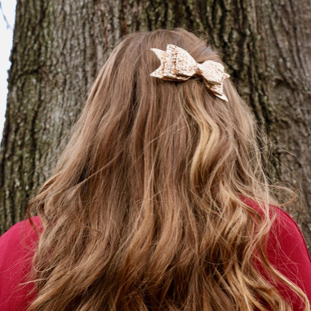 Sammi Rose Gold Bow