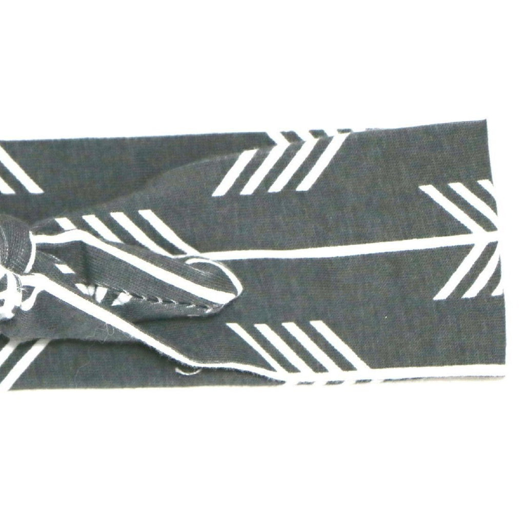Ava Grey Arrow Headband