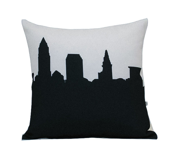 Anne Cate Cleveland Skyline Pillow