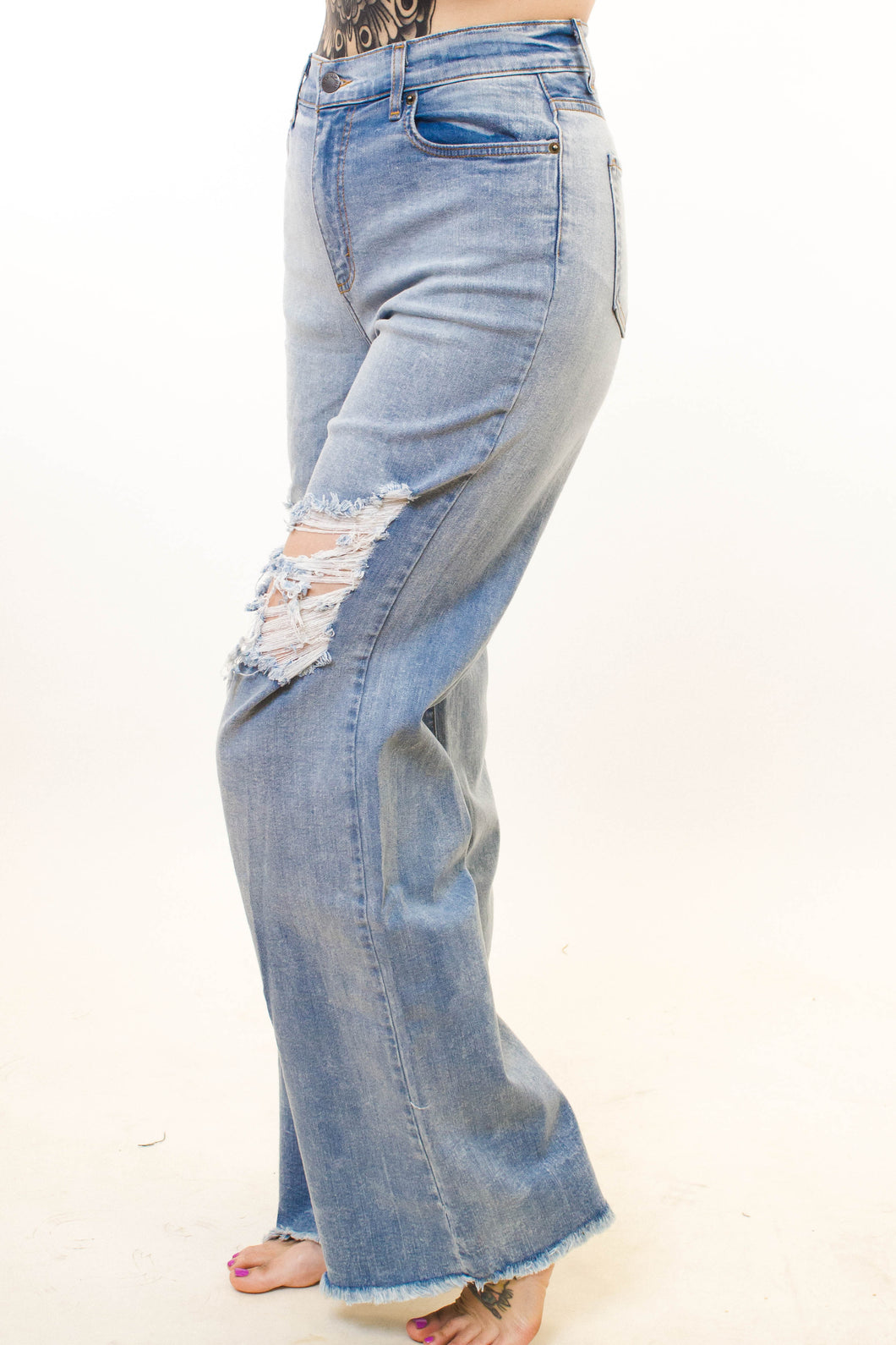 Brushed & Pleated Joggers