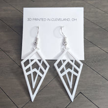 3D Printed Geometrical Drop Earrings