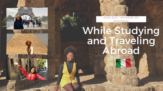 How Did I Manage My Skincare Business While Studying Abroad in Italy?