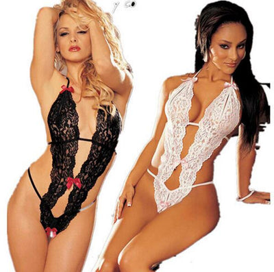 Hot Transparent Conjoined Lingerie