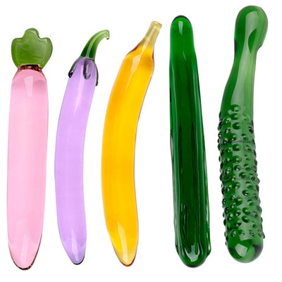 Artificial penis Fruit and vegetable sex toy