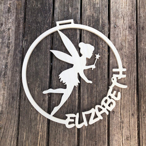 Tinker bell door sign - Disney Tinkerbell wall decor - Disney nursery