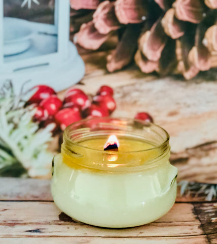 Cranberry Marmalade Wood Wick Soy Candle