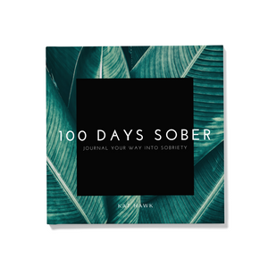 100 Days sober - Journal your way into Sobriety