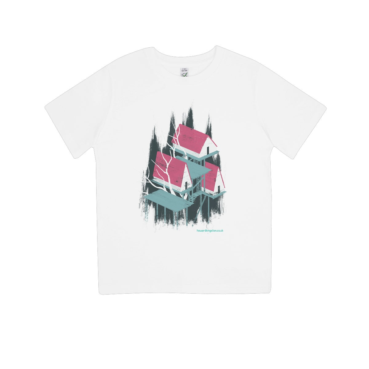 Tree House 1 Kids 100% Organic T-Shirt