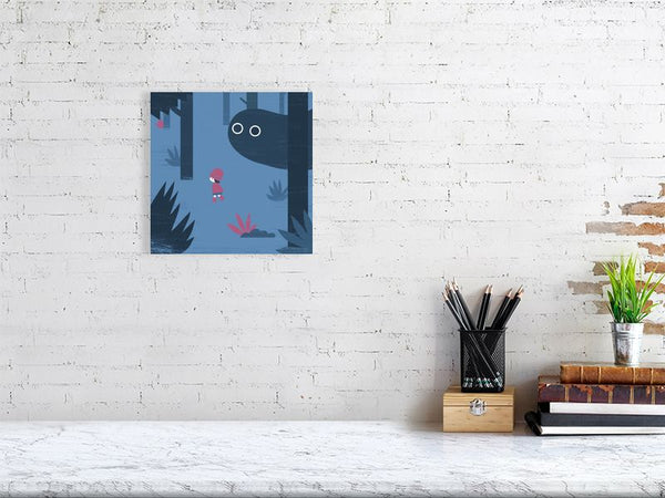 Forest Boo Art Print Medium Howard Kingston